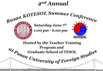 Busan Summer KOTESOL Conference