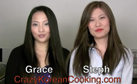 Grace & Steph of CrazyKoreanCooking.com