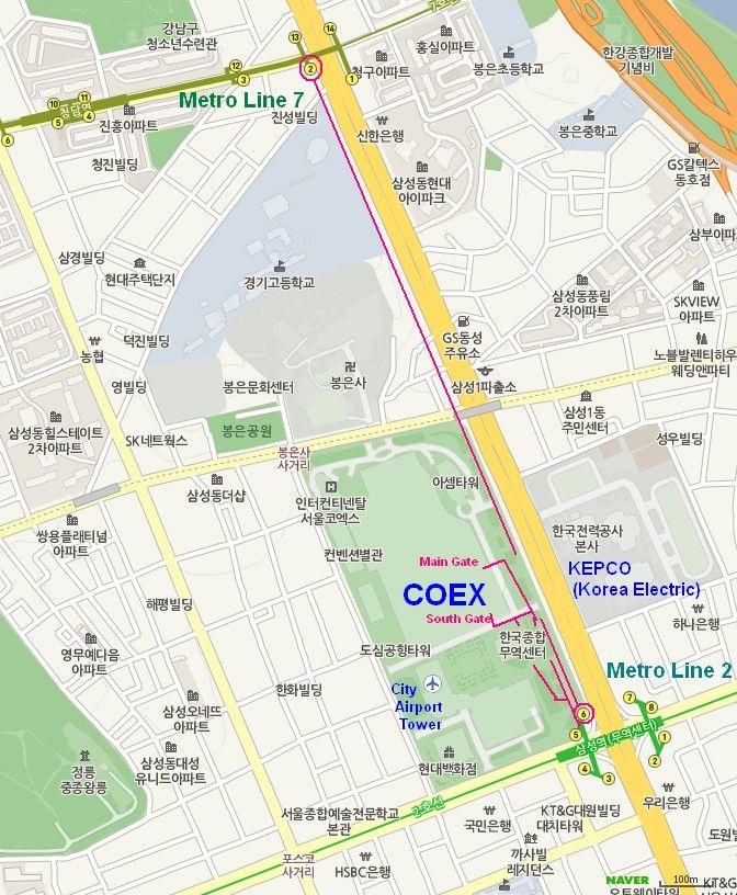 Coex Map