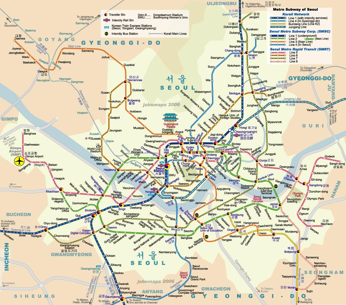 Maps of Korea and Korean Cities | Koreabridge Google Map Of Seoul on google maps seoul korea, tripadvisor seoul, google map korea english, google map south korea,