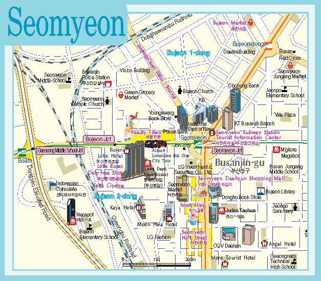 Maps Of Korea And Korean Cities Koreabridge
