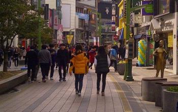 Nampo-dong and Jagalchi Market