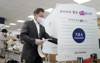 Controlling Corona Meant South Korea's Election was Not Dominated by It
