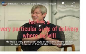 Interview - PARASITE translator Darcy Paquet