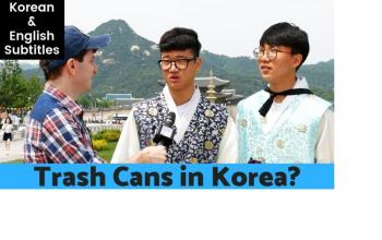 Why Are There No Trash Cans in Korea?