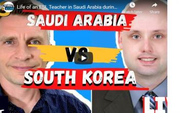Life of an ESL Teacher in Saudi Arabia during Covid19 - The Korea Podcast #73