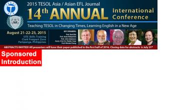 2015 TESOL Asia Journal Int'l Conference and TESOL Certification