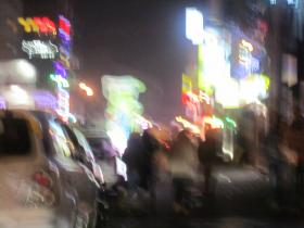 Typical Night in Seoul