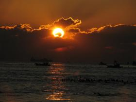 Haeundae Beach Sunrise