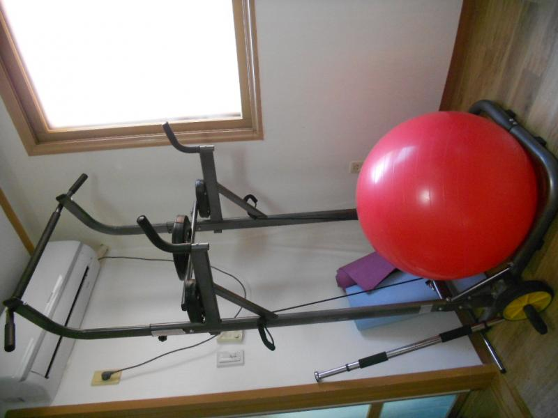 Home workout equipment - KRW 130 000 (for all)