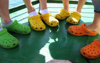 Friends love Crocs