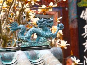 Jangansa Temple Dragon, near Ulsan