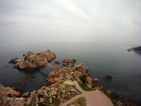 Ulsan, from a kite - Daewongam Park
