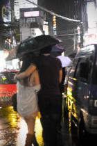 You + Me + Rain = <3