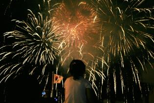 Mud Fest Fireworks