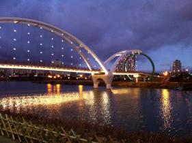 Whale Bridge at Dusk