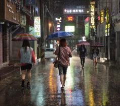 "The night before Sanba: ""Umbrellas"" #1"