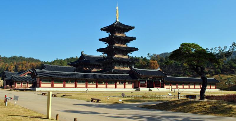Neungsa Baekje Temple, Buyeo